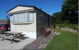 Cottage Farm Touring Park, Treworgans, Newquay.