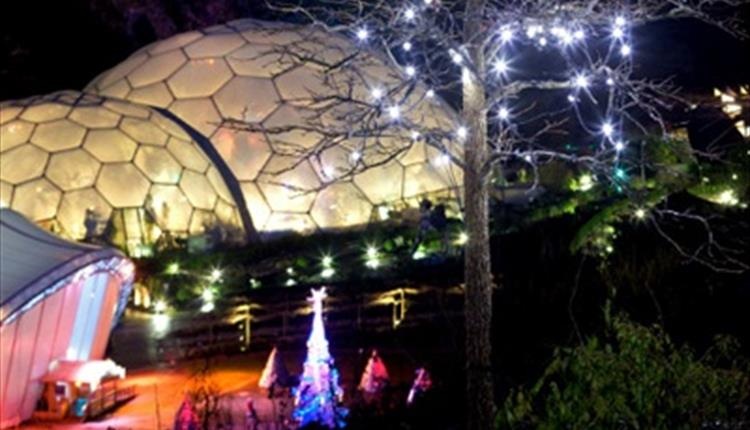 Eden Project In Winter Cornwall