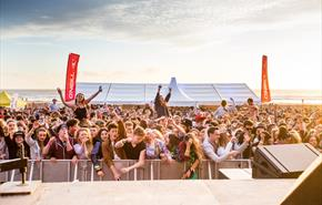 Electric Beach Festival on Newquay's Fistral Beach 2016