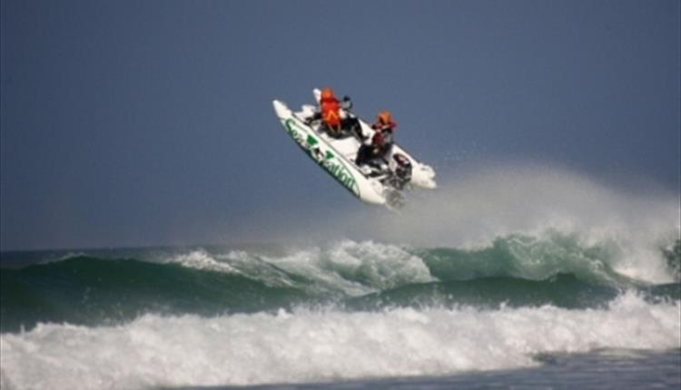 Zapcat Powerboat Grand Prix at Fistral Beach