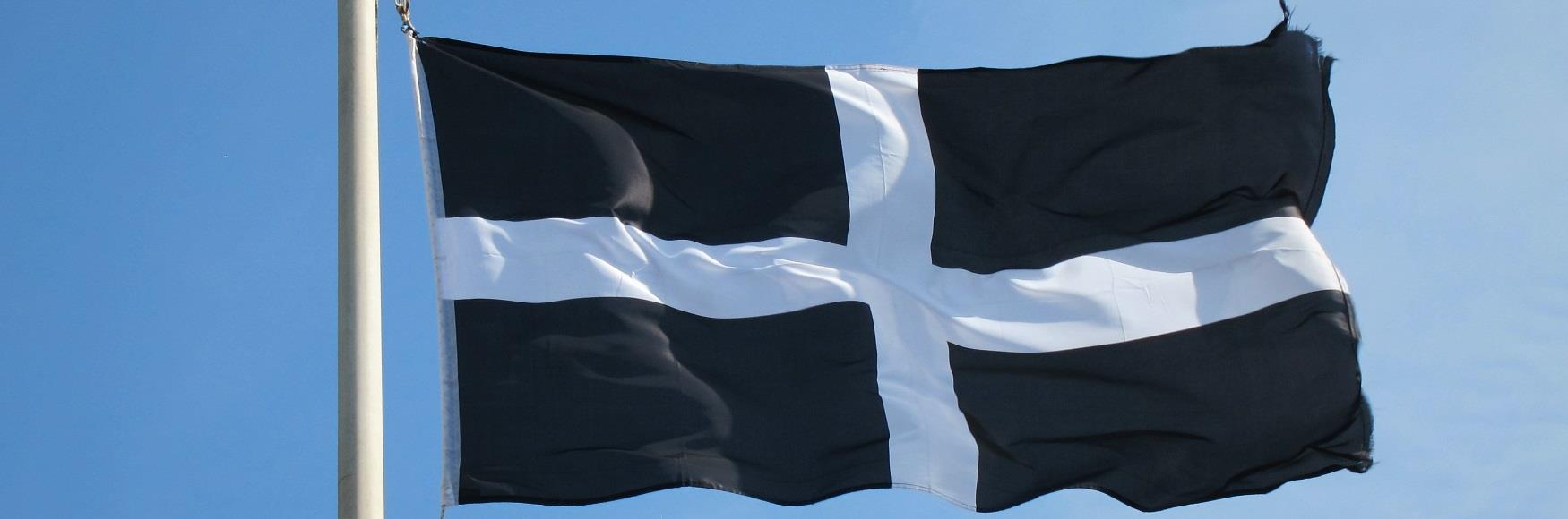 St Piran's Day Flag