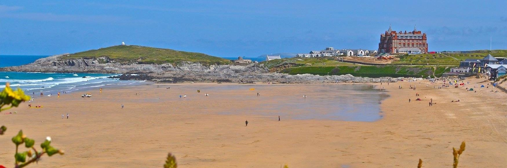 Fistral Beach - Home of English surfing