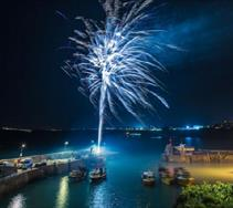 Fireworks Night at Newquay Harbour