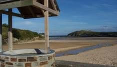 Wishing you were here at Porth Beach