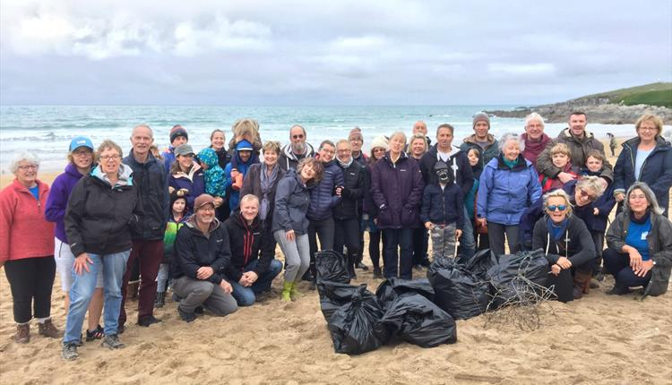Fistral Beach Clean