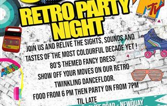 Griffin's 80's Retro Party Night