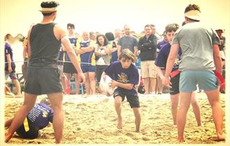 Lusty Glaze 20th Anniversary Beach Tag Rugby Tournament