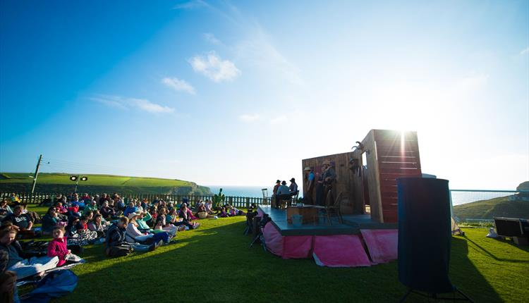 Theatre By The Sea at Bedruthan Hotel