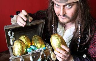 The Quest for the Golden Egg at Pirate's Quest
