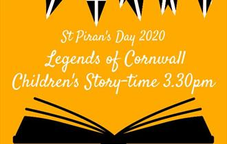 St Piran's Day 'Legends of Cornwall Children's Story-time' at Newquay Library