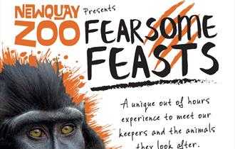 Fearsome Feasts at Newquay Zoo