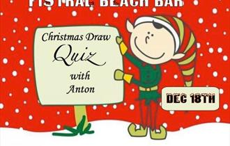 A Festive Christmas Draw and Quiz at Fistral Beach Bar