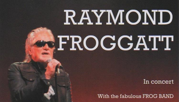 Raymond Froggatt & The Frog Band Plays LIve at Newquay's Lane Theatre