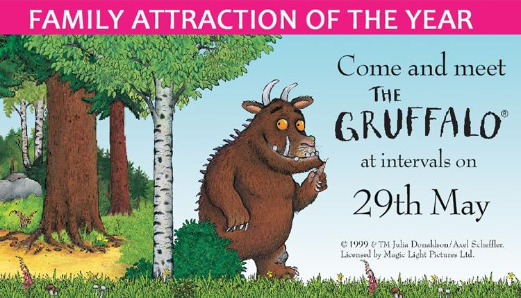 The Gruffalo is Coming to Camel Creek!