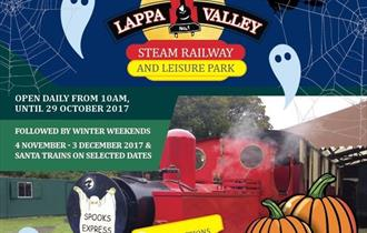 Halloween Week at Lappa Valley Steam Railway