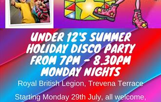 Children's Disco Party at The Royal British Legion