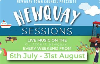 Newquay Town Council Presents 'Newquay Sessions'
