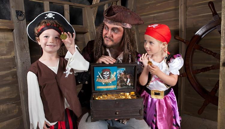 Quest for the Golden Egg at Newquay's Pirate's Quest