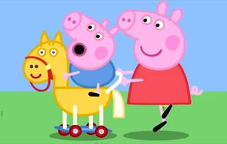 Meet Peppa Pig & George at Camel Creek Family Adventure Park