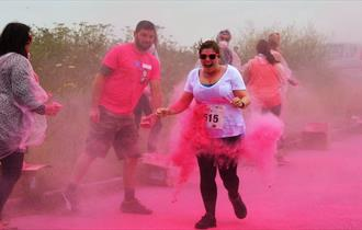 Children's Hospice South West's Newquay Rainbow Run