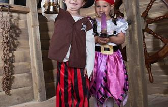 Spooky Halloween Half Term at Newquay's Pirates Quest