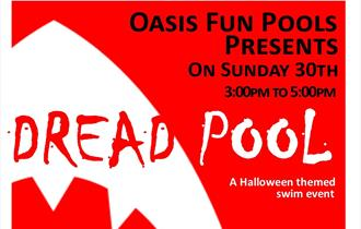Halloween Pool Party at Hendra's Oasis Fun Pool