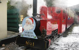 Santa Specials at Lappa Valley Steam Railway this December!
