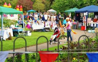 Trenance Cottages' Spring Fayre in the Park