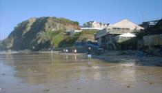 Watergate Bay form the Beach