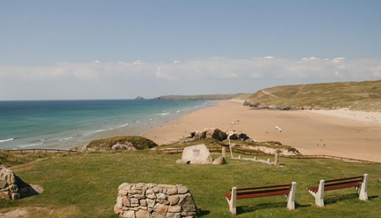 Perranporth Beach,