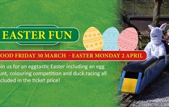 All Aboard The Easter Eggspress at Lappa Valley!