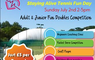 The Heron Tennis Centre's Staying Alive Tennis Fun Day