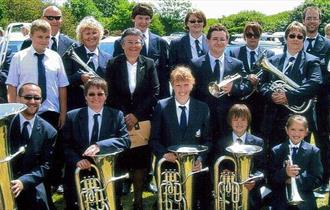 Newquay Band at Morrisons