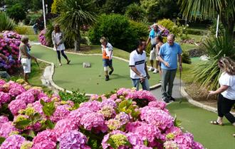 Trenance Crazy Golf, Pitch and Putt and Little Western Railway